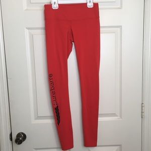 Pure Barre by Splits59 Red Leggings